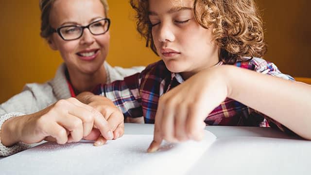 teacher-visual-disability