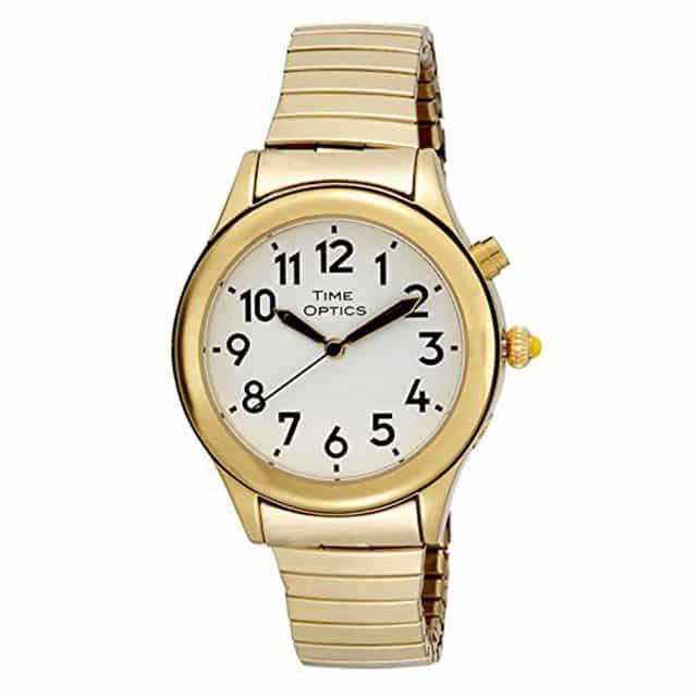 time-optics-woman-talking-watch